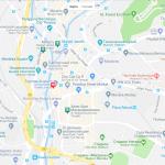 Карта центральной части Куала-Лумпура