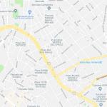 Карта центральной части Сукре