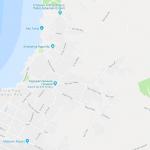 Карта части острова Пасхи