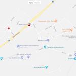 Карта города Дудинце