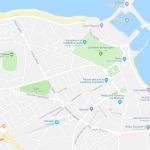 Карта города Монастира