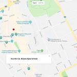 Карта города Прешов