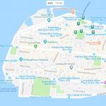 Карта Мале на Мальдивах