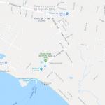 Карта прибрежной части Сиануквиля