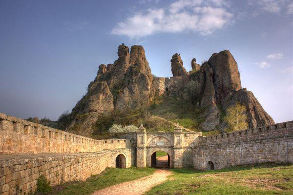 Крепость Белоградчик в Болгарии