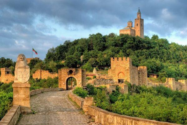 Крепость Царевец в Болгарии