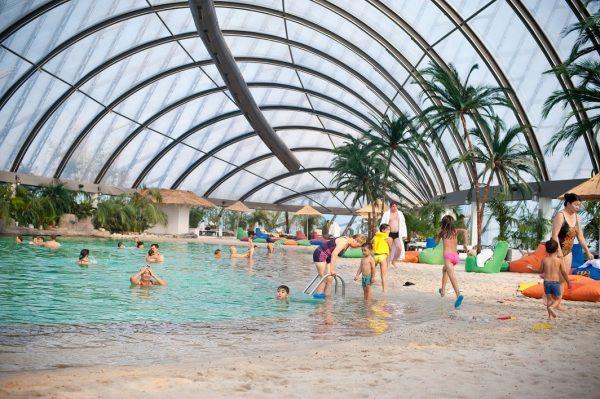Крытый аквапарк в ТРК Хан Шатыр