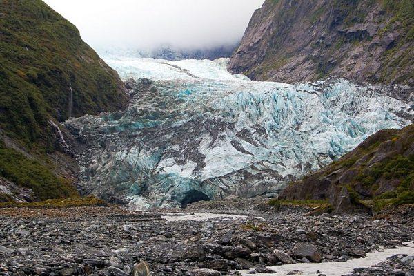 Ледник Франца-Иосифа на Южном острове Новой Зеландии