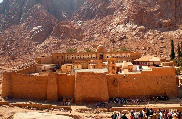 Монастырь Святой Екатерины у горы Моисея