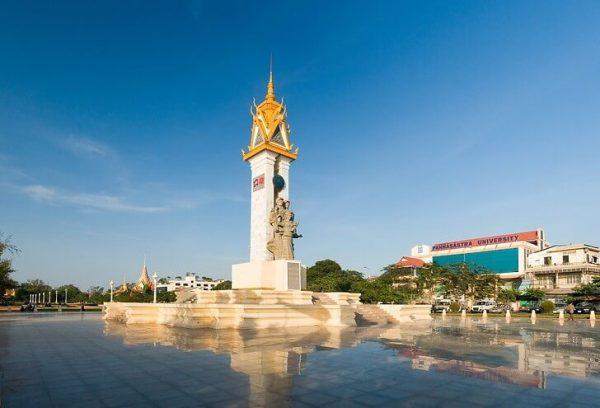 Монумент дружбы Камбоджи и Вьетнама