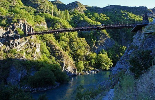 Мост Каварау недалеко от Квинстауна