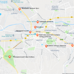 Карта Ниша