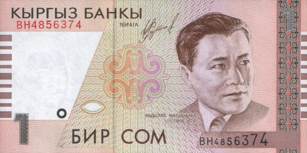 Национальная валюта Кыргызстана