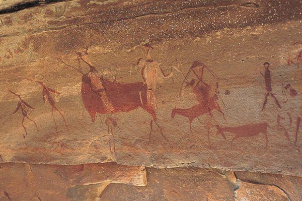 Наскальная живопись в пещерах
