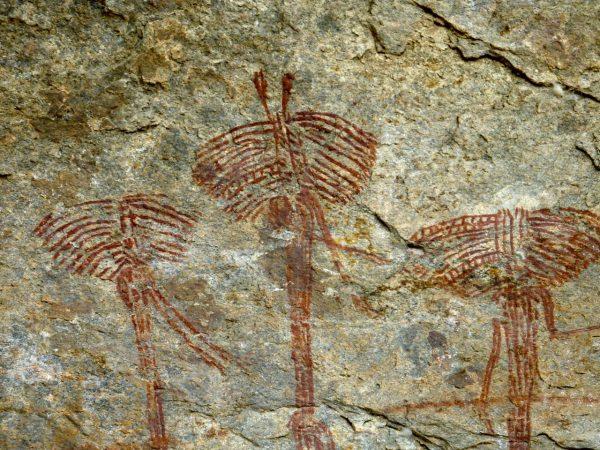 Наскальные рисунки в пещерах Кондоа