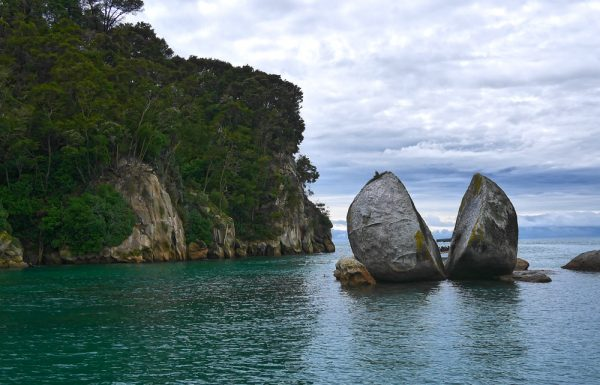 Берега одного из островов Новой Зеландии