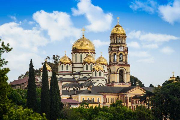 Новоафонсий монастырь в Абхазии