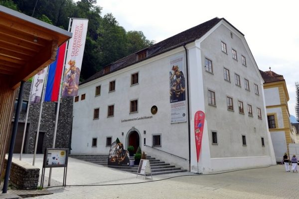 Одно из зданий государственного музея Лихтенштейна
