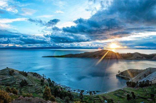Озеро Титикака в Боливии