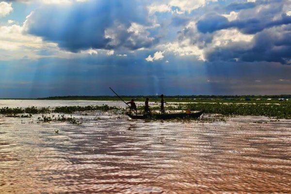 Озеро Тонлесап в Камбоджи