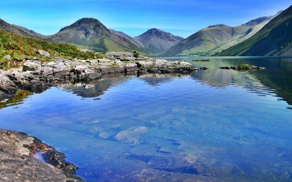 Озеро Уиндермир в Великобритании