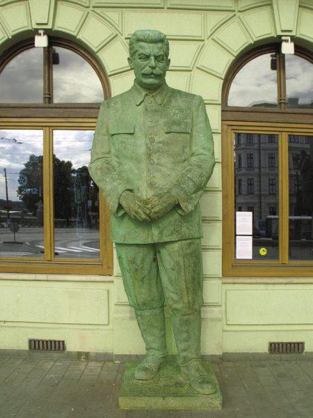 Памятник И. В. Сталину в Братиславе