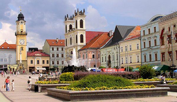 Площадь города Банска-Бистрица