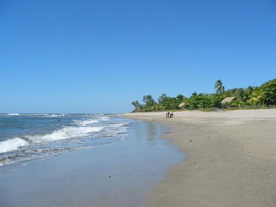 Пляж в районе города Почомиль