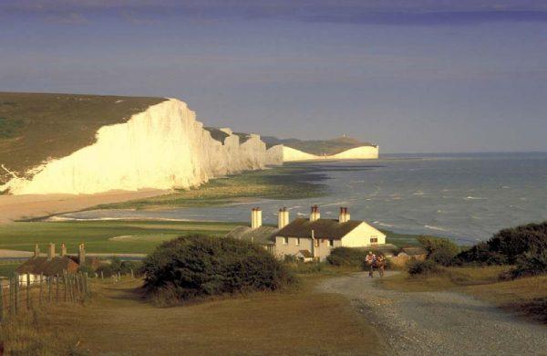 Мыс «Семь сестёр» на побережье Британии