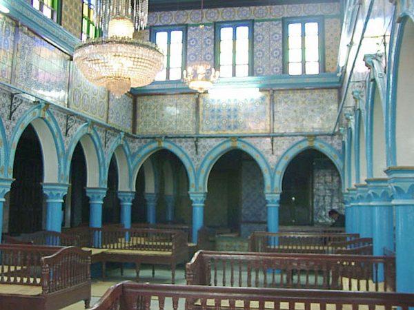 Помещение в синагоге Эль-Гриба