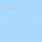 Расположение атоллов Фаафу и Даалу