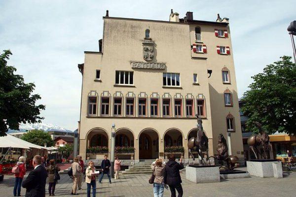 Ратуша в городе Вадуц