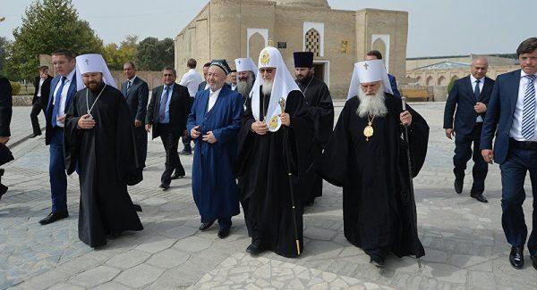 Православный митрополит в Узбекистане