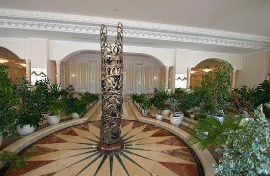 Резиденция президента Ак-Орда изнутри
