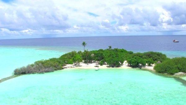 Риф Мадивару Манта Пойнт в Мальдивской Республике