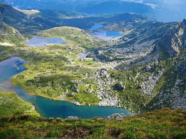 Рильские озёра в Болгарии