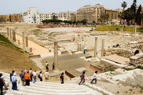 Римкий амфитеатр в Александрии