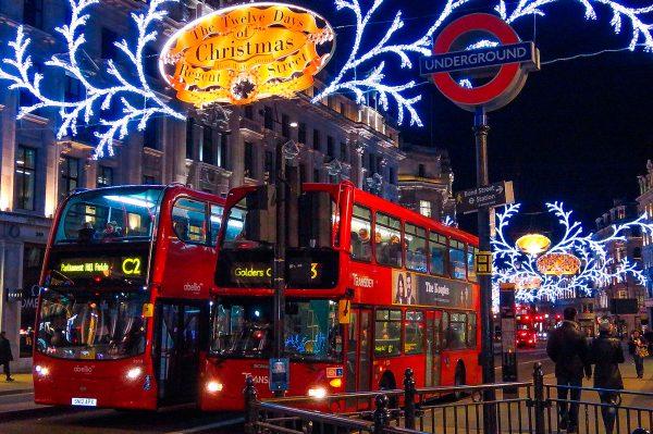Рождественский Лондон