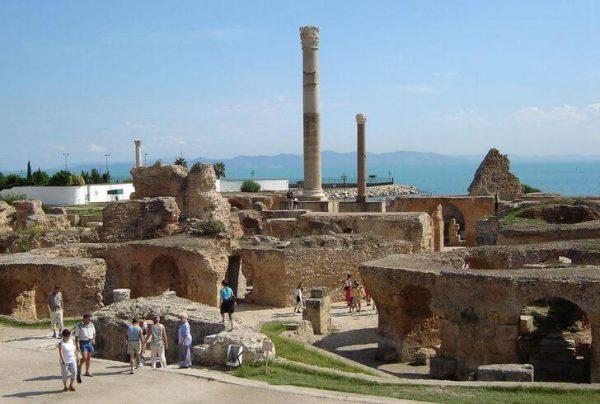 Руины древнего города Карфагена