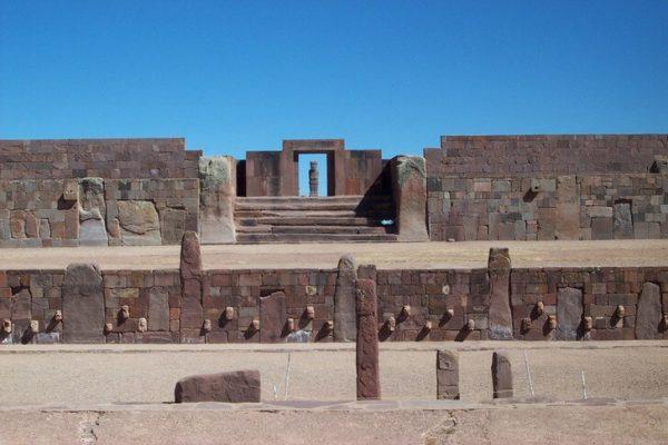 Руины города Тиуанако