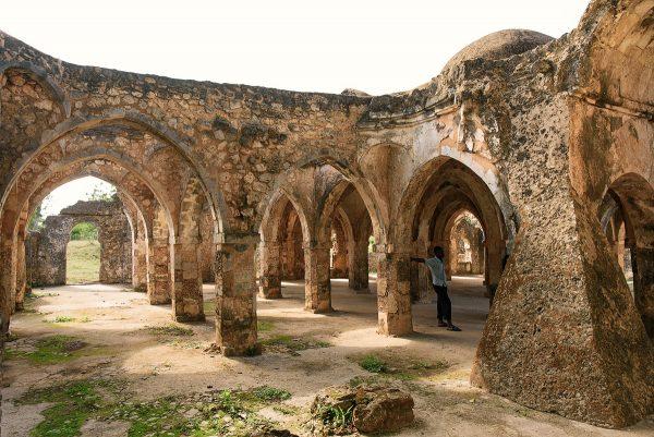 Руины средневекового города Килва