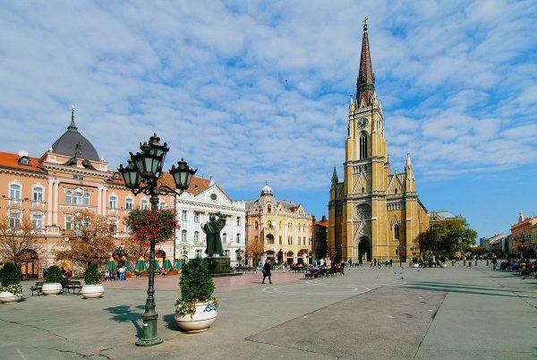 Собор Девы Марии в городе Нови-Сад