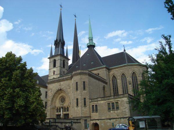 Собор Нотр Дам в Люксембурге