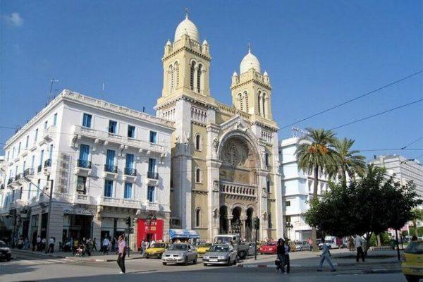 Собор Святого Викентия де Поля в Тунисе