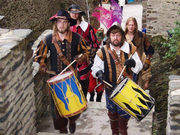 Средневековый фестиваль в Виандене