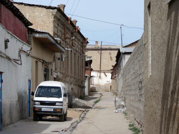 Старые кварталы Ташкента