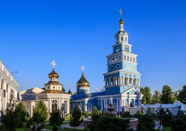 Свято-Успенский кафедральный собор в Ташкенте