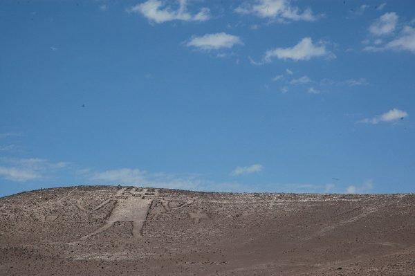 Тарапака в пустыне Атакама в Чили