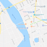 Туристическая карта города Кампот