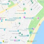 Туристическая карта Варна